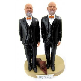 Same Sex Wedding Cake Toppers
