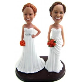 Lesbian Wedding Cake Toppers