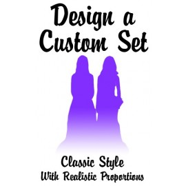 Custom Classic Same Brides Lesbian Wedding Cake Toppers