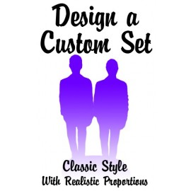 Custom Classic Same Grooms Gay Wedding Cake Toppers