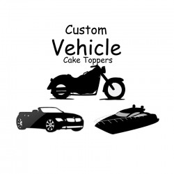 Custom Vehicle Cake Toppers