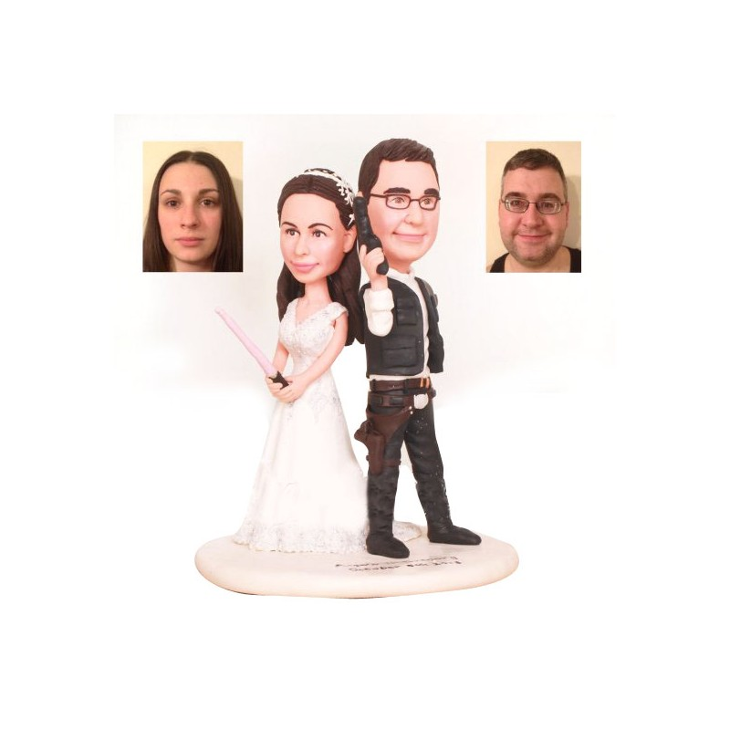 Star wars wedding cake toppers junglespirit Gallery
