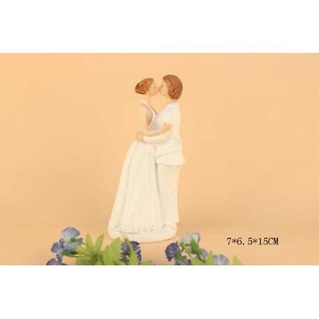 Quick Ship Lesbian Same Sex Wedding Cake Toppers