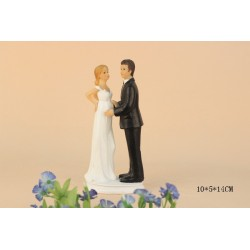 Quick Ship Bride Plus Size Wedding Cake Toppers With A Child
