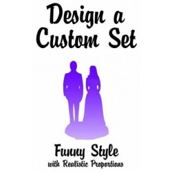 Custom Classic Wedding Cake Toppers