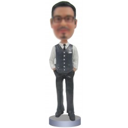 Personalized Custom Office Bobbleheads for Men