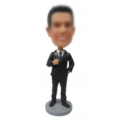 Cool Custom Office Bobbleheads for Men