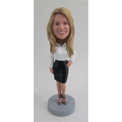 Customized Office Bobbleheads for Women