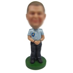 Personalized Man in Uniform Bobbleheads