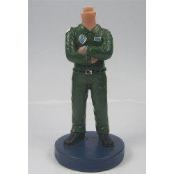 Customized Police in Black Suit Bobbleheads