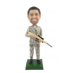 Personlized Police Man Bobbleheads