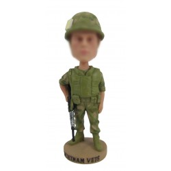 Costomized Soldier Bobbleheads