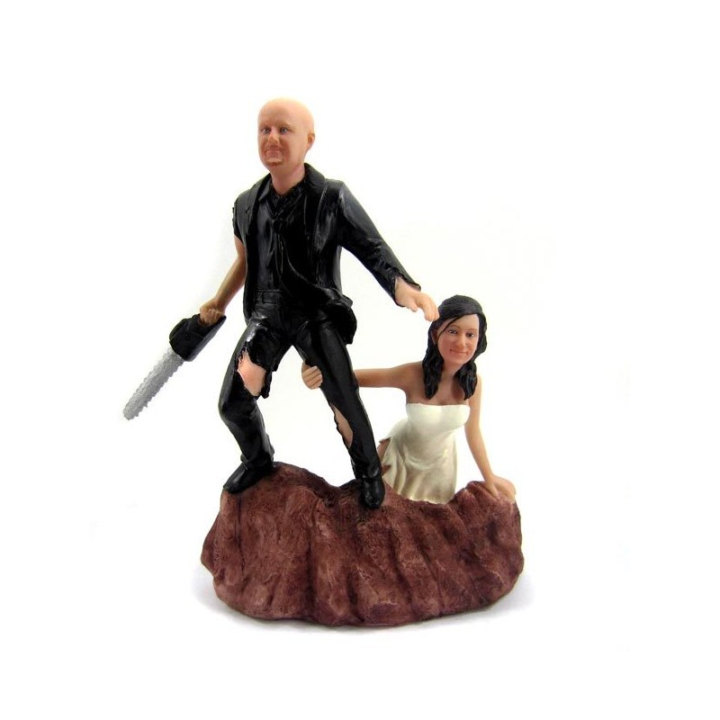 Funny Army Of Darkness Wedding Cake Toppers