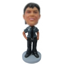Personalized Military Officer Bobbleheads for Men