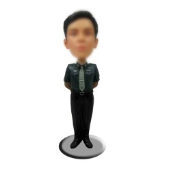 Personalized Military Police Bobbleheads forWomen