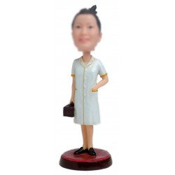 Personalized Custom Doctor Bobbleheads for Women