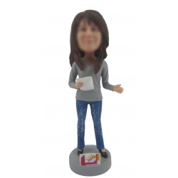 Personalized Custom Teacher Bobbleheads