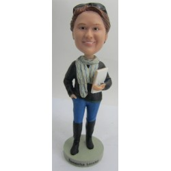 Personalized Custom Teacher Bobbleheads for Women