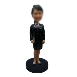 Personalized Custom Postal WorkerBobbleheads for Women
