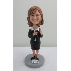 Personalized Custom Lawyer Bobbleheads for Women