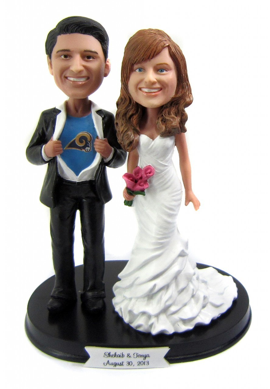 Custom Movie Theme Wedding Cake Toppers