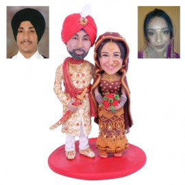 Hindu Indian Theme Wedding Cake Toppers