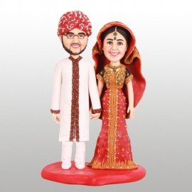 Indian Theme Wedding Cake Toppers