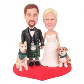 Irish Wedding Cake Toppers