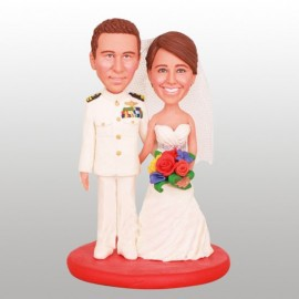 Marine Corps Custom Wedding Cake Toppers