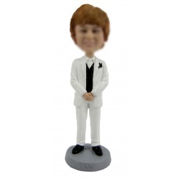 Personalized Custom Groomsman Bobbleheads