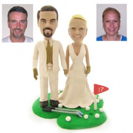 Funny Golf Wedding Cake Toppers