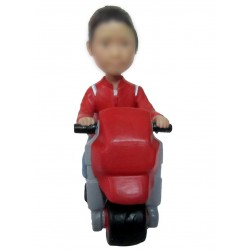 Personalized Custom Motorcycle Bobbleheads for Man