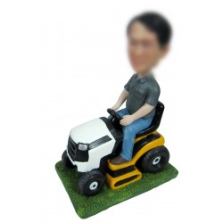Personalized Custom Vehicle Bobbleheads for Man