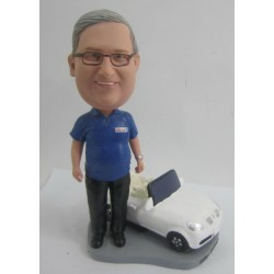 Personalized Custom Car Bobbleheads for Man