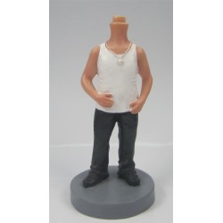 Personalized Custom Fashionable Bobbleheads for Man