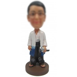 Personalized Custom Japanese Bobbleheads for Man