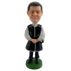 Personalized Custom Ethnic Bobbleheads for Man