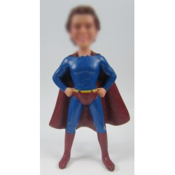 Personalized Custom Superman Bobbleheads for Man