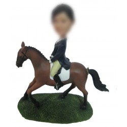 Personalized Custom Horse Bobbleheads For Woman
