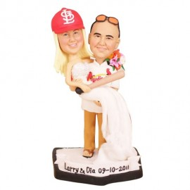 Custom Baseball Wedding Cake Toppers