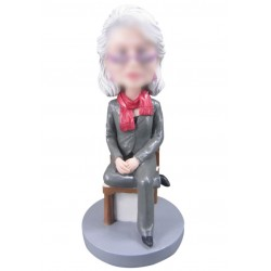 Personalized Custom Fashionable Bobbleheads for Woman
