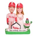 Philadelphia Phillies Baseball Cake Topper