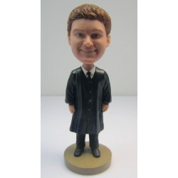 Personalized Custom Graduation Bobbleheads for Man