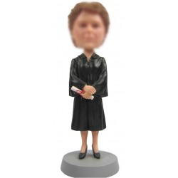 Personalized Custom Graduation Bobbleheads for Woman