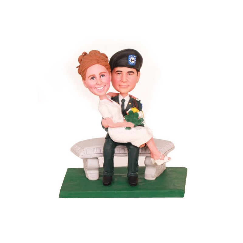 Phenomenal Personalised Police Wedding Cake Toppers Bride And Groom Gamerscity Chair Design For Home Gamerscityorg