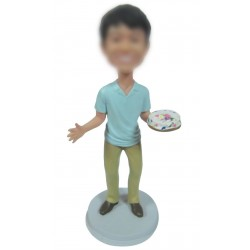 Personalized Custom Birthday Bobbleheads For Man