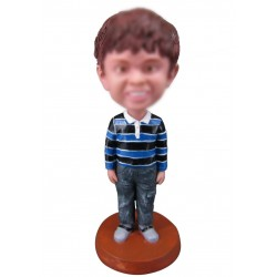 Personalized Custom Chrild Bobbleheads for Boy
