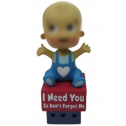 Personalized Custom Baby Bobbleheads for Boy