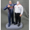 Gay Red Bull Cake Toppers