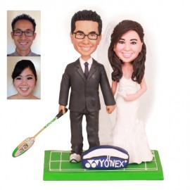 Badminton Wedding Cake Toppers